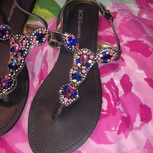 Sparkly sandals!
